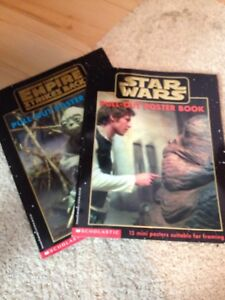 Star Wars & The Empire Strikes Back - Pull out poster books