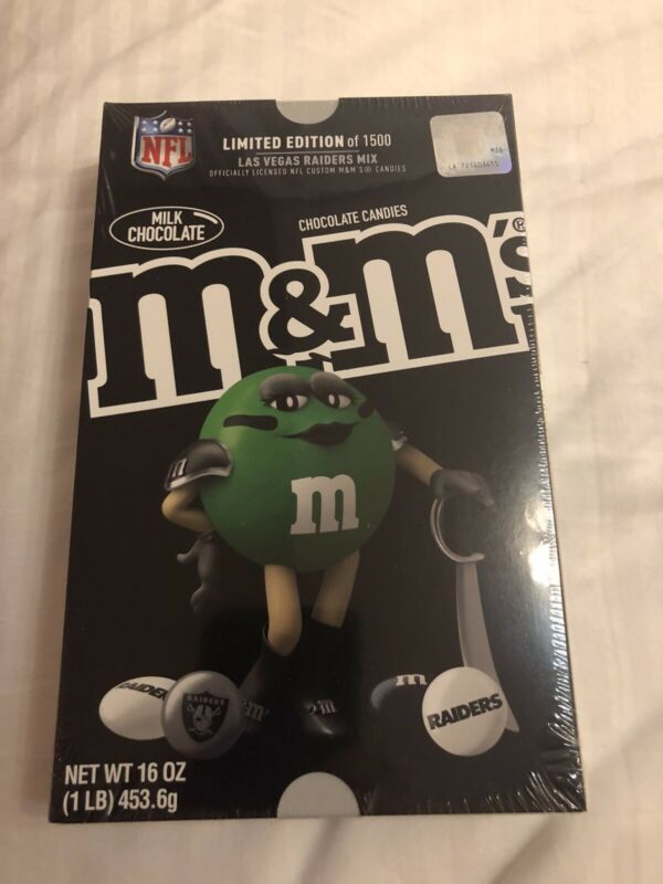Las Vegas Raiders  LIMITED EDITION M&M