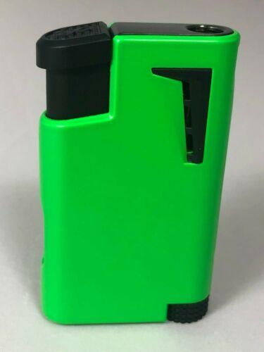 Xikar - XK1 Lighter - Single Jet Flame - Green 555GN -BRAND NEW