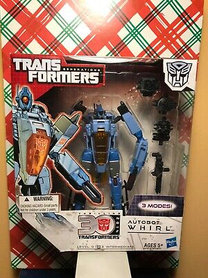 TRANSFORMERS GENERATIONS THRILLING 30TH VOYAGER CLASS WHIRL