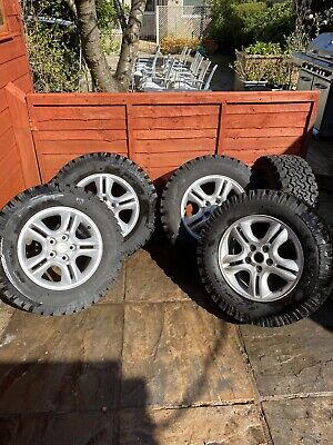 5 X Kia Sportage Alloy Wheels With 235/60 x 16 Insa Turbo Rangers