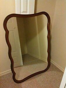 Large Walnut Mirror