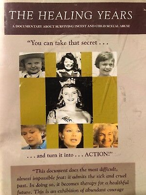 The Healing Years DVD Surviving incest and child sexual abuse Rape Documentary