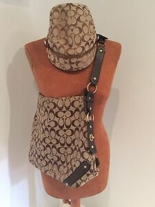 Authentic Coach Hat and possibly authentic purse