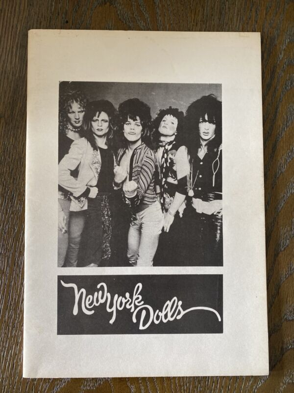 NEW YORK DOLLS 1995 limited edition book by Smiths singer Steven Morrissey RARE