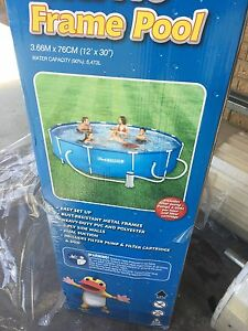 Swimming pool steel frame Quinns Rocks Wanneroo Area Preview