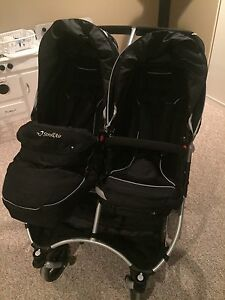 StrollAir My Duo double stroller