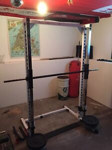 Smith machine/weirder cable machine