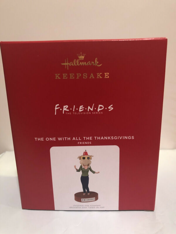 2021 Hallmark Friends The One With All The Thanksgivings Magic Ornament NIB NEW