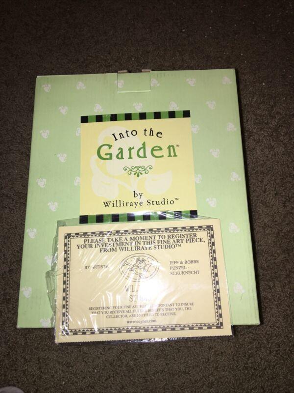Williraye Studio Into The Garden Easter Best Figurine 2005 Coyne's & Company