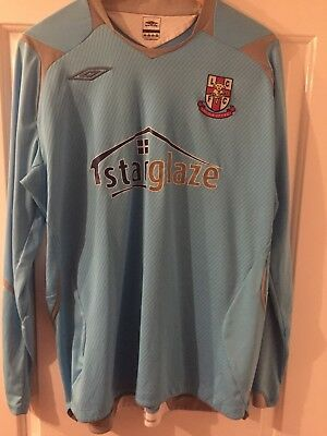 Lincoln City FC 2007-08 Home Goalkeeper Shirt image