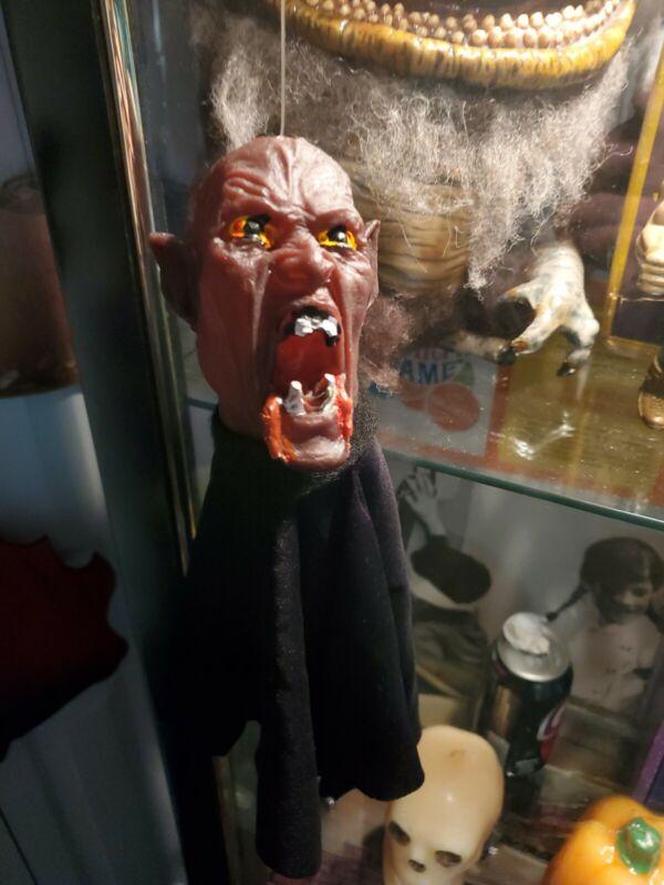 Vintage KO Dracula Vampire Universal Monsters Puppet Rubber junk 1970 Salems Lot