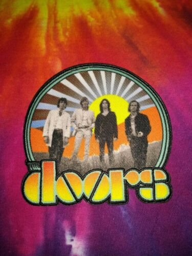 The Doors Waiting For The Sun 3.5 x 3.5 Inch Iron On Patch