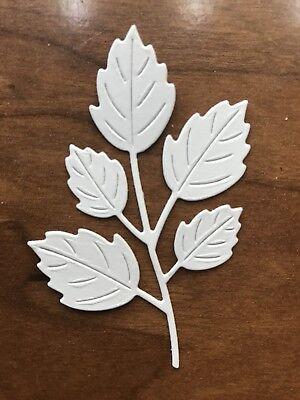 9pcs Paper Die Cuts Foliage, Branch, Leaves. Cardmaking Scrapbooking.