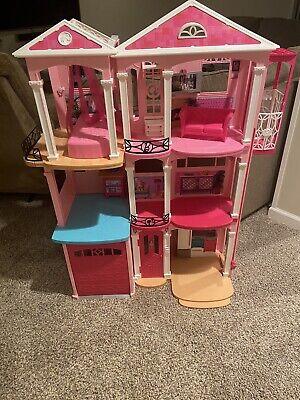 Barbie Dream House Playset, Pink