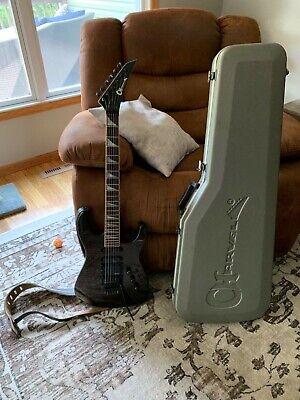 Charvel Model 6 guitar 1987 MIJ Black Cherry Super Strat HSS Jackson Floyd Rose