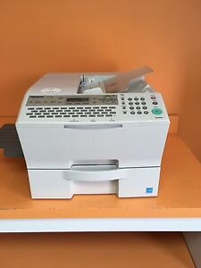 Heavy duty fax machine
