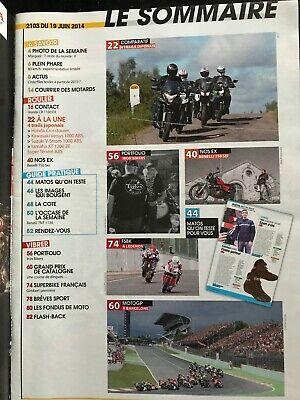 Moto journal 19/06/2014; essai trail kawa versys 1000 abs/ honda crosstourer 120