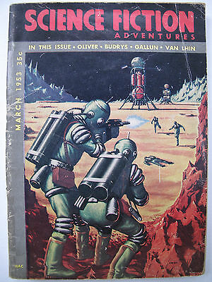 USA Digest - SCIENCE FICTION ADVENTURES Mar, 1953 – Algis Budrys