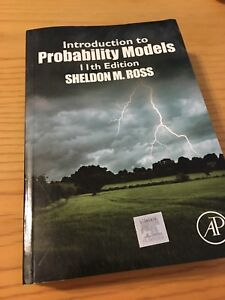 Introduction to Probability Models by Sheldon Ross 11th ed.