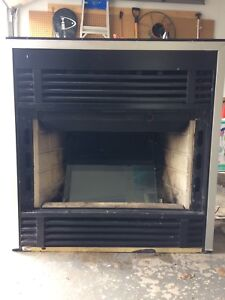Pre fab fireplace