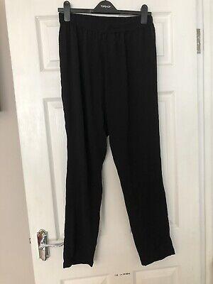 Jacqueline de yong Black Trousers. Large