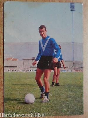 Vecchia cartolina VASINI GIANCARLO Brescia Calcio 1962 1963 Persicostampa di del