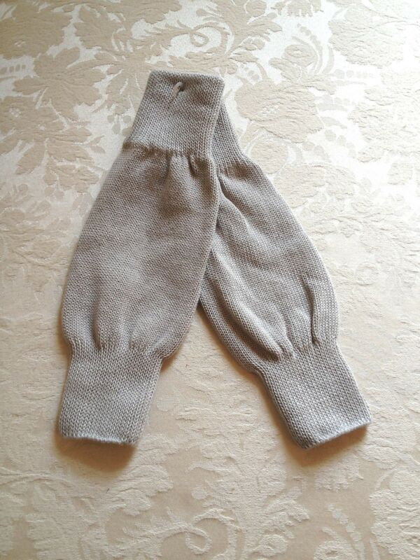 New Gray Leg Warmers Dancewear Child Small Medium & Large Ballet Tap Jazz Skate