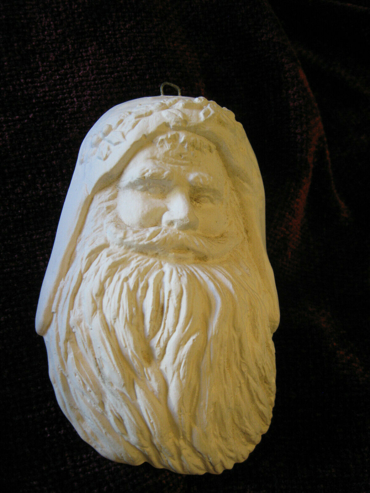 5 Santa Figures Pottery Ready To Paint 3 Faces 9 Figure 6 Head Ceramic Bisque - $35.00