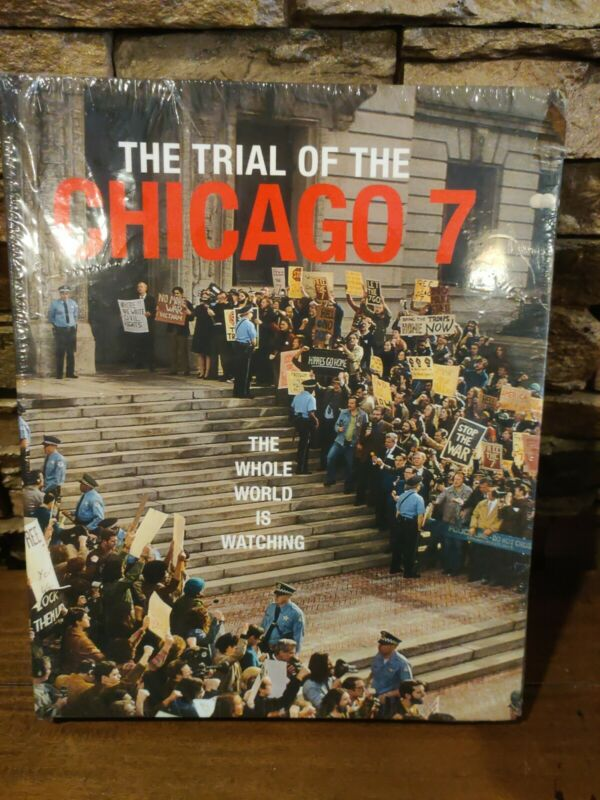 The Trial of the Chicago 7 - Hardcover Movie Book - NEW & SEALED