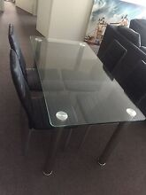 Dining table with 4x chairs Success Cockburn Area Preview