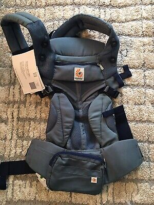 ERGOBABY OMNI 360 COOL AIR MESH ERGO BABY Carrier oxford blue