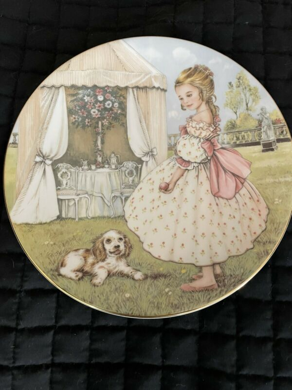 The Hamilton Collection Tuesdays Child Plate