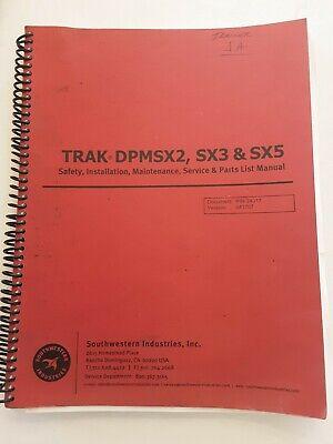 Southwestern Prototrak Dpmsx235 Safety Install Maint. Service Parts Manual