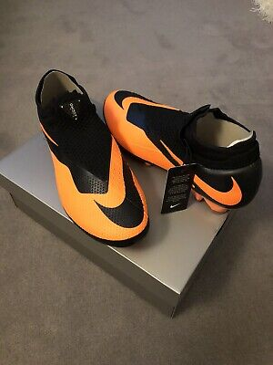 Nike Phantom Vision Elite FG UK 10 Hypervenom Football Boots Black / Orange
