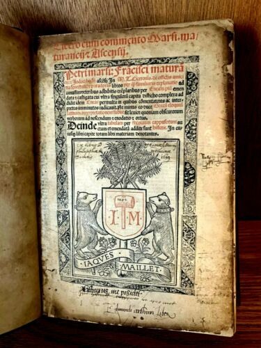 1492 CICERO WITH COMMENTARIES OF MARSIUS, MATURANZIO AND ALSINUS