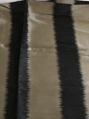 "HARLEQUIN DESIGNER CURTAIN FABRIC""TABRIZ""5 METRES Faux SILK 54"" Wide Silk Designer Drapery Faux Fabric"
