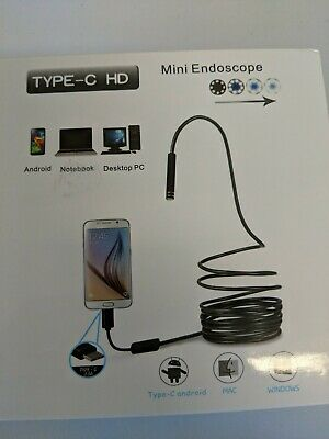 Usb Snake Inspection Camera Fantronics 2.0 Mp Ip67 Waterproof Usb C Borescope