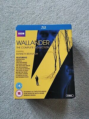 Wallander: The Complete Collection (Box Set) [Blu-ray] NEW sealed. Free Post -