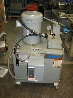 Vickers Power Systems Hydraulic Pump 7.5hp 30 Usgal Needs New Seals