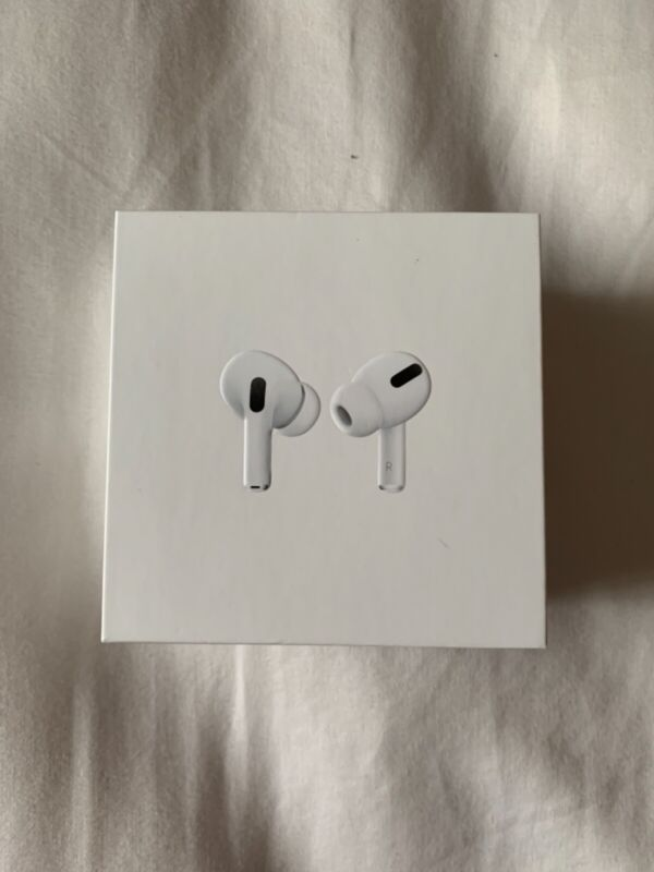 Brand New White Apple AirPods Pro's Opened Box Never Been Used