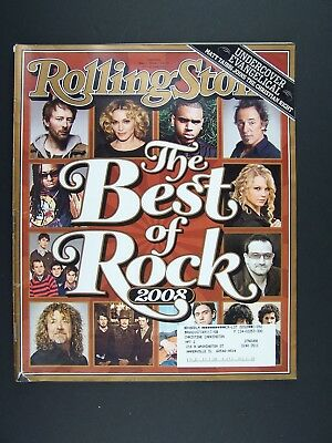 Rolling Stone Magazine Issue 1051 May 1st 2008 Best Of Rock
