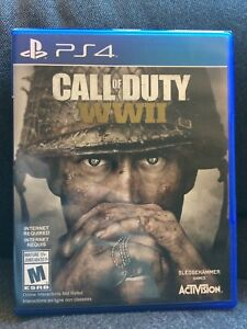 Call of Duty: WWII - PS4 $40