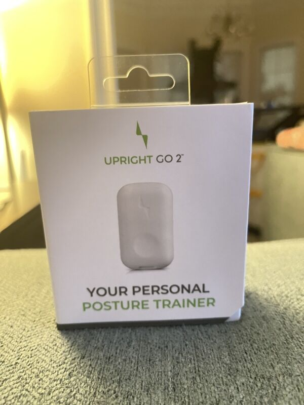 NEW Upright GO 2 - Correct Posture Trainer - White URF02W-IN - UR-02A-02B