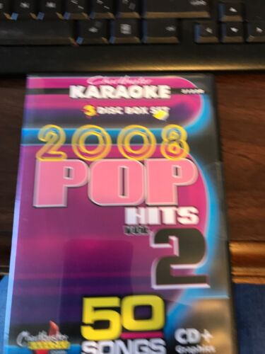 CHARTBUSTER KARAOKE CDGS 2008 POP 5123R - $40.00