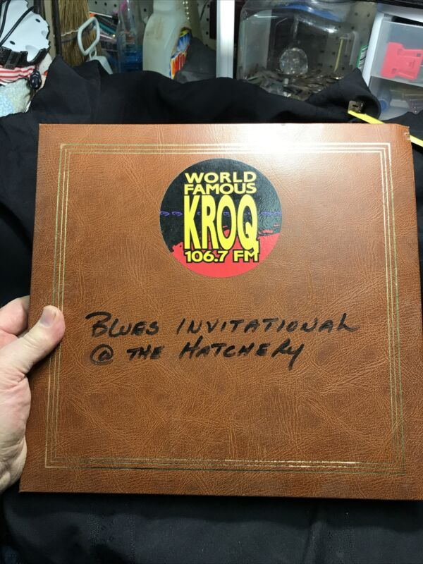 1970's BLUES Band Photo Album From Tour