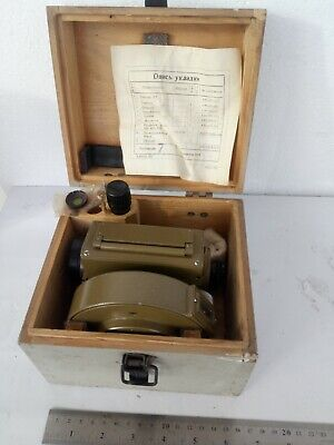 1976 Russian Ussr Theodolite Surveying Level Nt Ht With Box