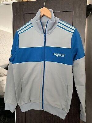 Vintage 90s ADIDAS Tracksuit Jacket | Sport Original Trefoil | Small / Medium
