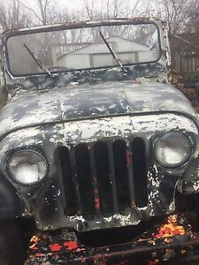 Old jeep right hand drive