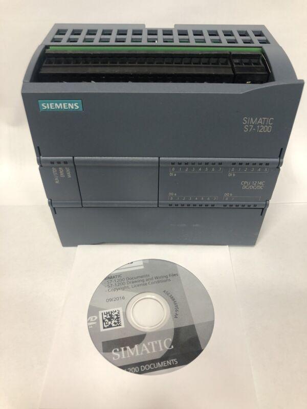 Siemens Simatic S7-1200 PLC CPU 1214C DC/DC/DC 6ES7 214-1AE30-0XB0
